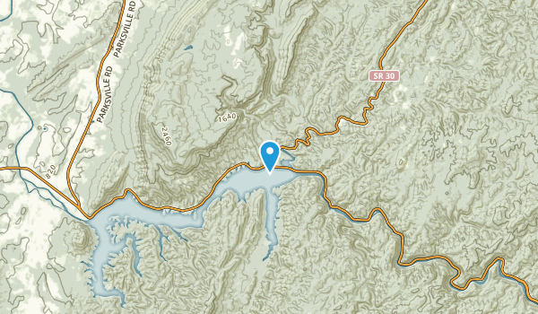 Caney Creek, Tennessee Map