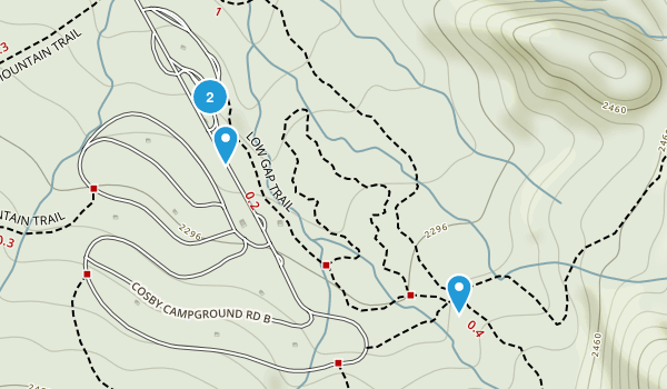 Catons Grove, Tennessee Map