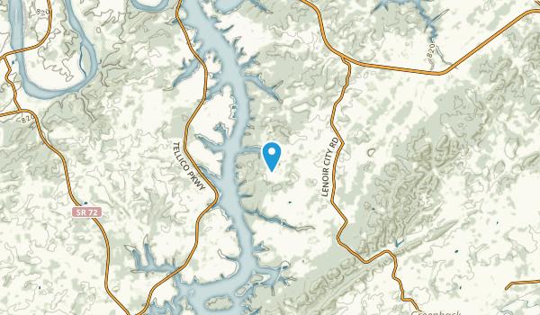 Centersville, Tennessee Map