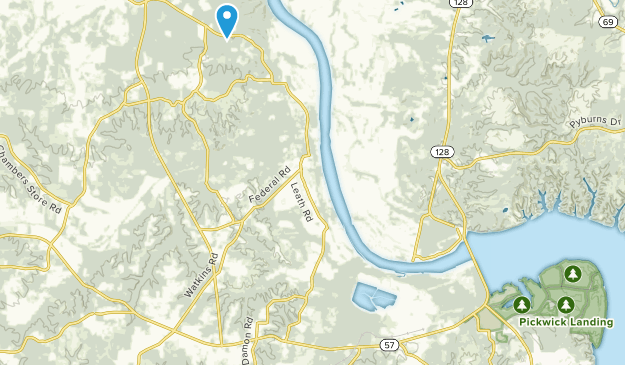 Counce, Tennessee Map