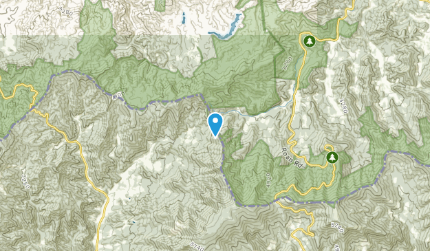 Cove Creek, Tennessee Map