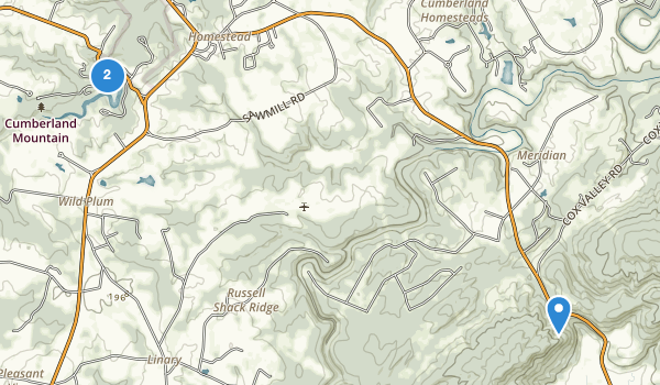 Crossville, Tennessee Map
