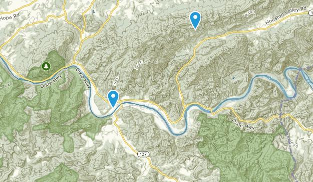 Del Rio, Tennessee Map