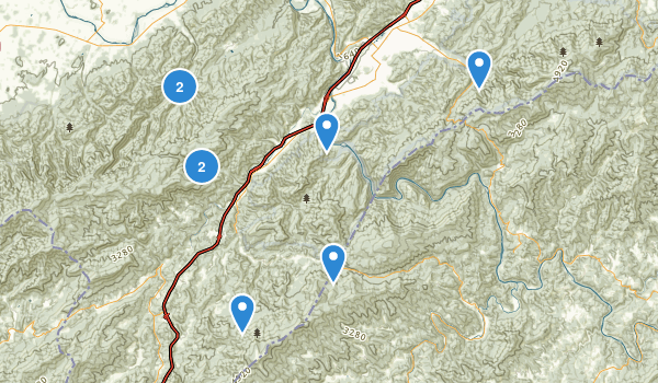 Erwin, Tennessee Map