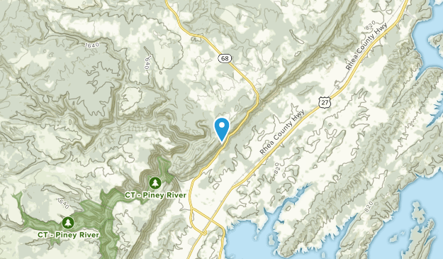 Grandview, Tennessee Map