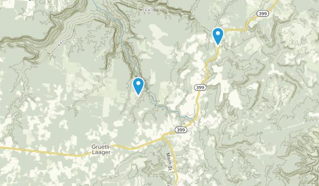 Gruetli-Laager, Tennessee Map