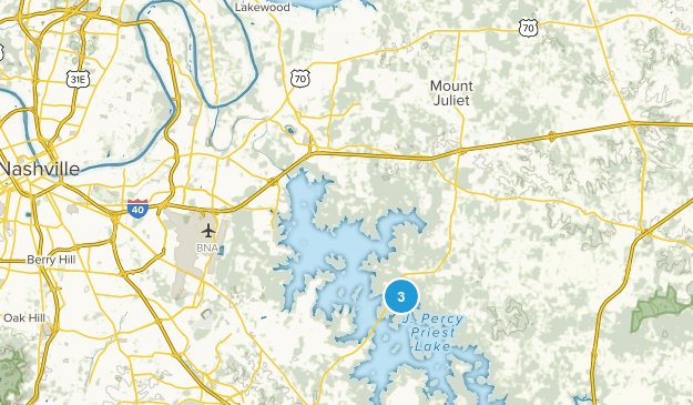 Hermitage, Tennessee Map