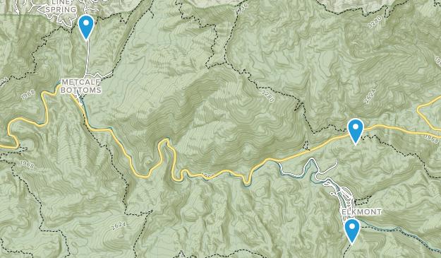 Norton Creek Ranch, Tennessee Map