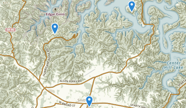 Smithville, Tennessee Map