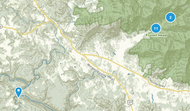 Wartburg, Tennessee Map
