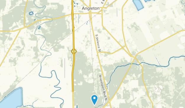 Angleton, Texas Map