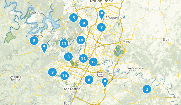 Central Texas Map Of Cities.Best Trails Near Austin Texas Alltrails