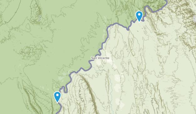 Boquillas Crossing, Texas Map