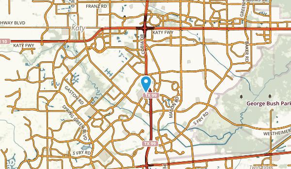 Cinco Ranch, Texas Map
