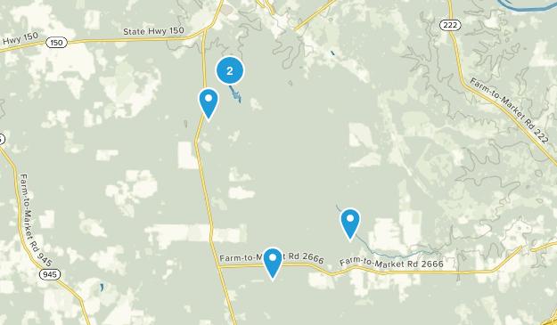Coldspring, Texas Map