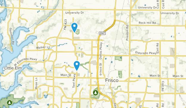 Map Of Texas Frisco.Best Trails Near Frisco Texas Alltrails