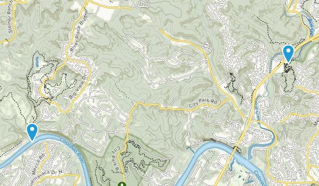 Greenshores, Texas Map