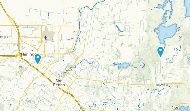 Harlingen, Texas Map
