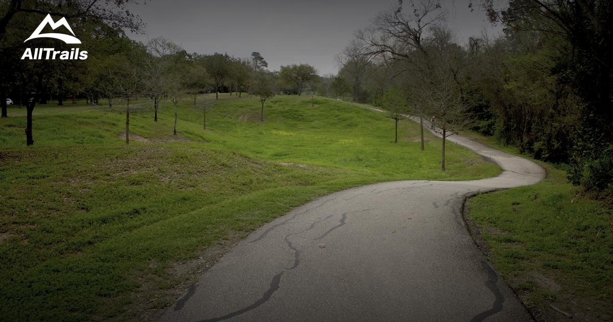 best trails near houston  texas