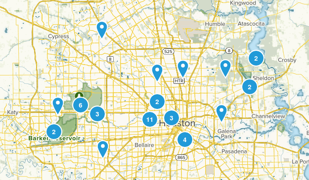 Houston, Texas Map