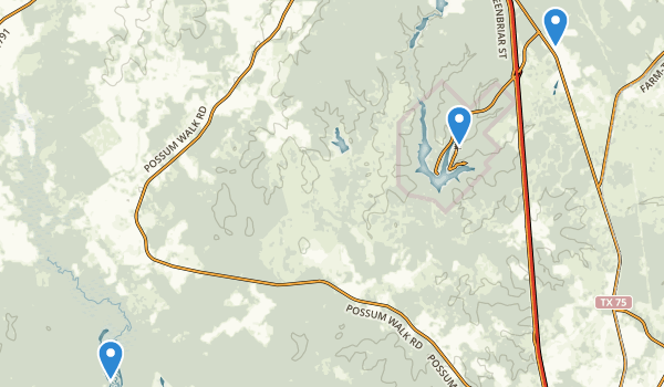 Huntsville, Texas Map