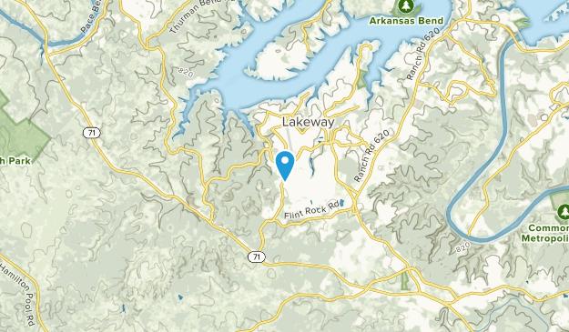 Lakeway, Texas Map
