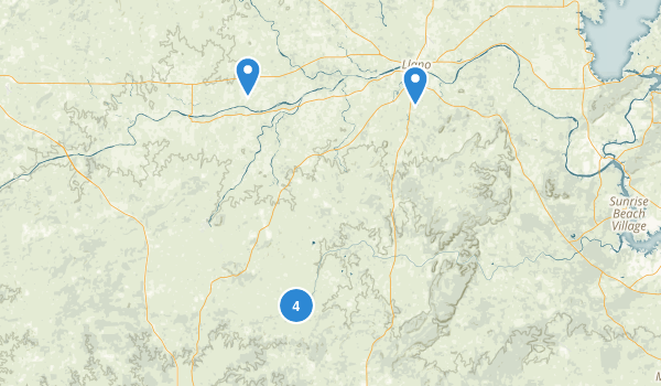 Llano, Texas Map