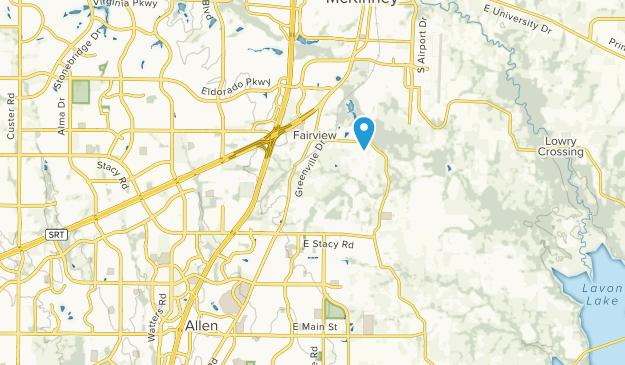 Mc Kinney, Texas Map