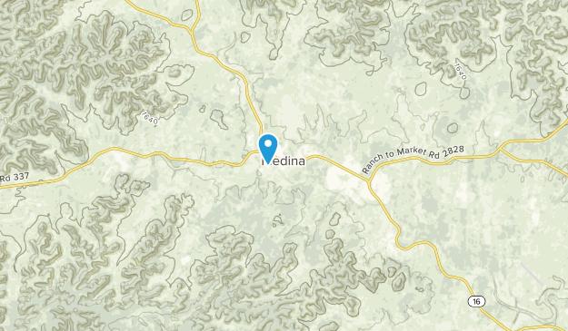 Medina, Texas Map