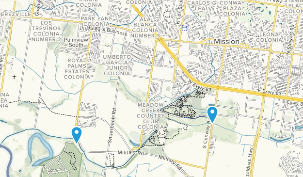 Mission, Texas Map
