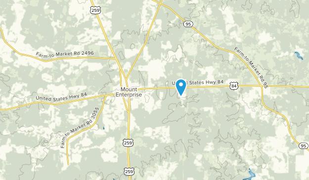 Mt Enterprise, Texas Map