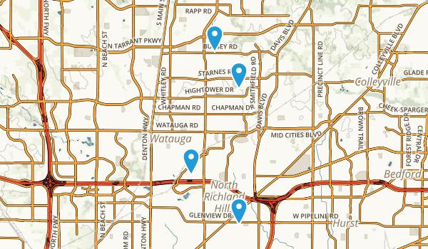 Best Trails near North Richland Hills Texas AllTrails