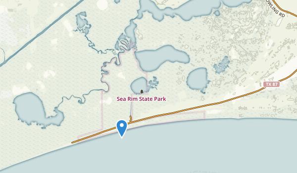 Port Arthur, Texas Map