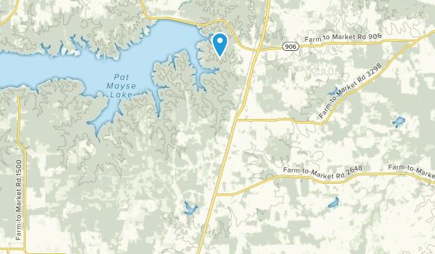 Powderly, Texas Map