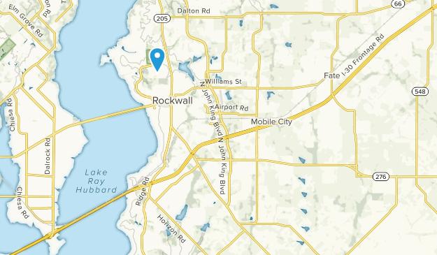 Rockwall, Texas Map