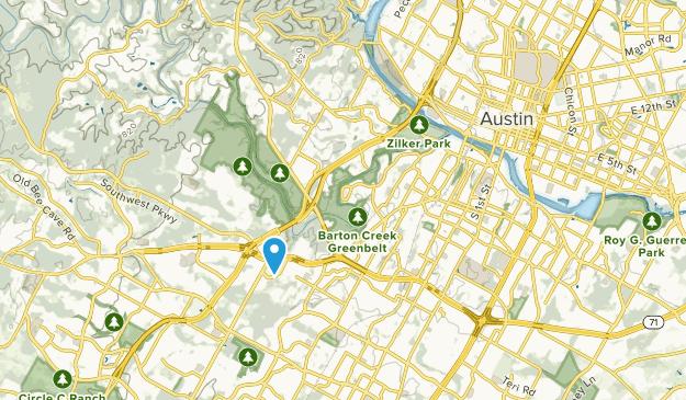 Rollingwood, Texas Map