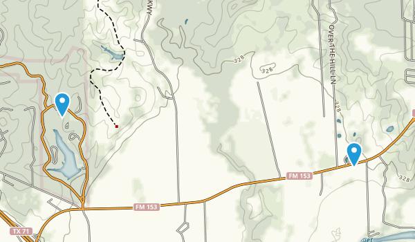 Smithville, Texas Map