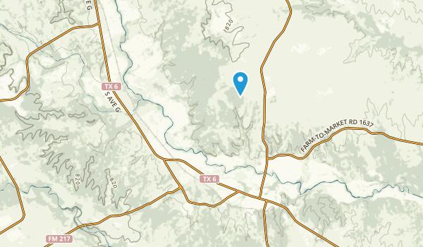Valley Mills, Texas Map