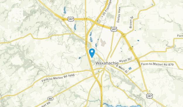 Waxahachie, Texas Map