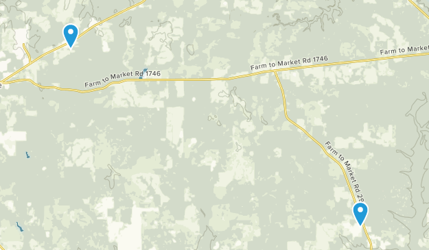 Woodville, Texas Map