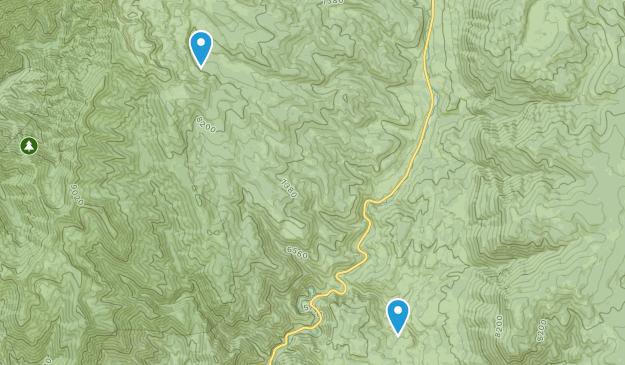 Brachipad Summer Home Area, Utah Map