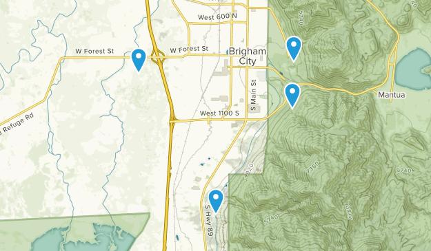 Brigham City, Utah Map