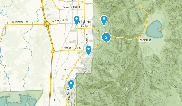 Map France 945.Best Trails Near Brigham City Utah Alltrails