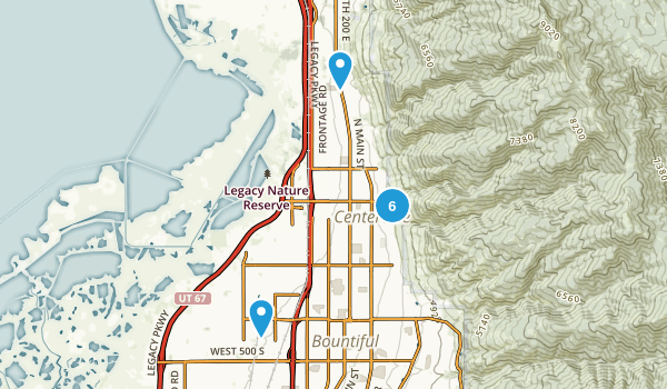 Centerville, Utah Map