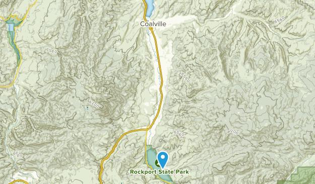 Coalville, Utah Map