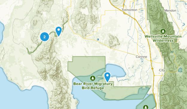 Corinne, Utah Map