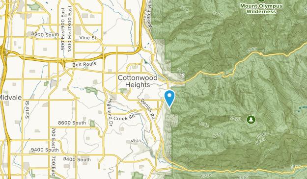 Cottonwood Heights, Utah Map