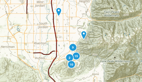 Draper, Utah Map