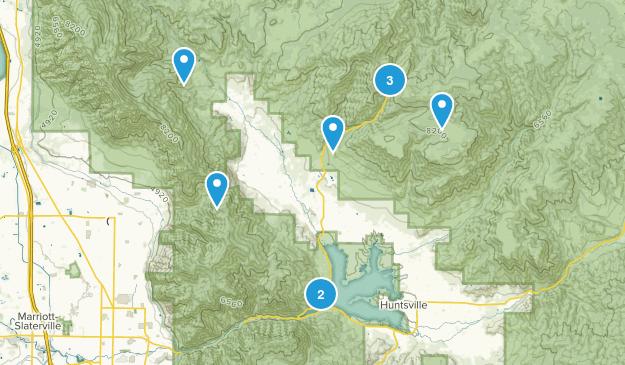 Eden, Utah Map