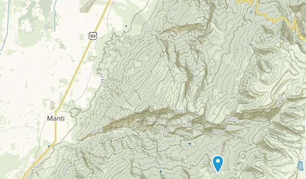 Ephraim, Utah Map